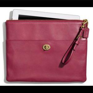 Coach Legacy iPad Clutch in Leather